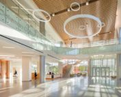 Heery International, a unit of CBRE Inc., was CM on the Coleman College health and science tower in Houston. PHOTO COURTESY OF CBRE INC.