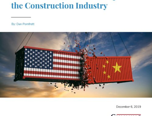 Recent Tariffs and Their Impact on the Construction Industry