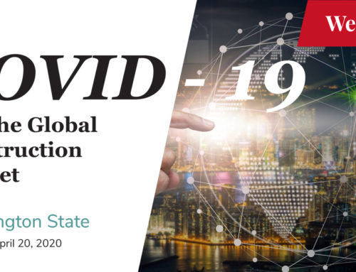 COVID-19 and the Global Construction Market – Washington State (April 20, 2020)