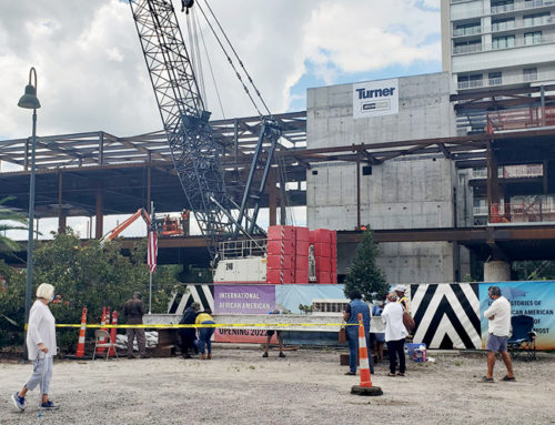 International African American Museum reaches topping-out milestone
