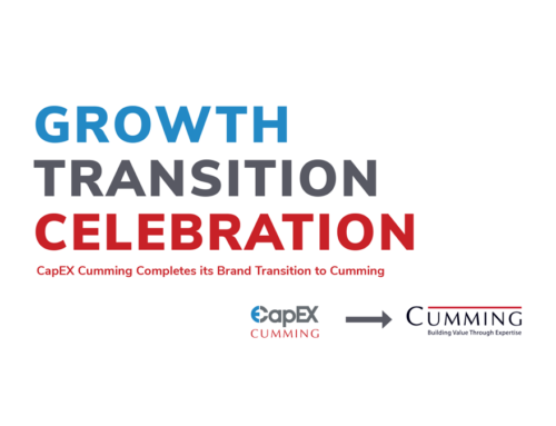 Growth Transition Celebration: CapEX Cumming
