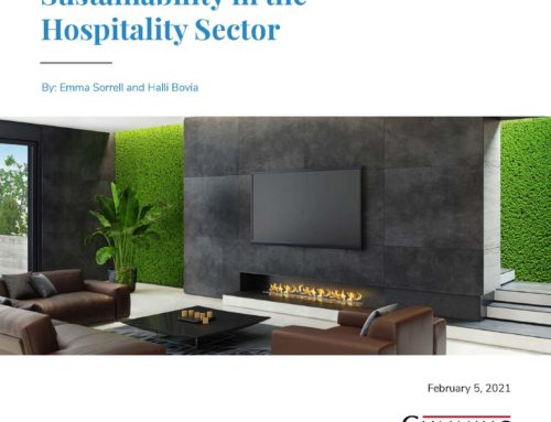 Sustainability in the Hospitality Sector